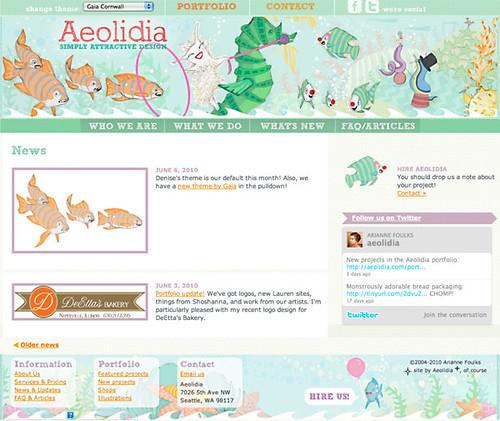 Aeolidia: Gaia Cornwall Theme