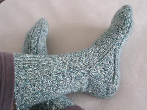 Brainless socks done :)