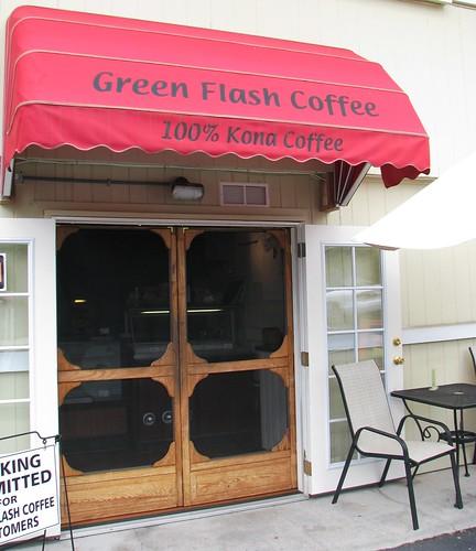 Green Flash Coffee, Kona