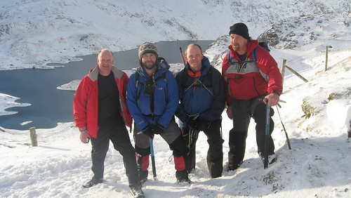 The team at Bwlch y Moch