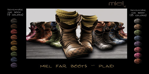 MIEL FAR PROMO - PLAID