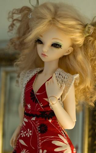 lenka's red dress