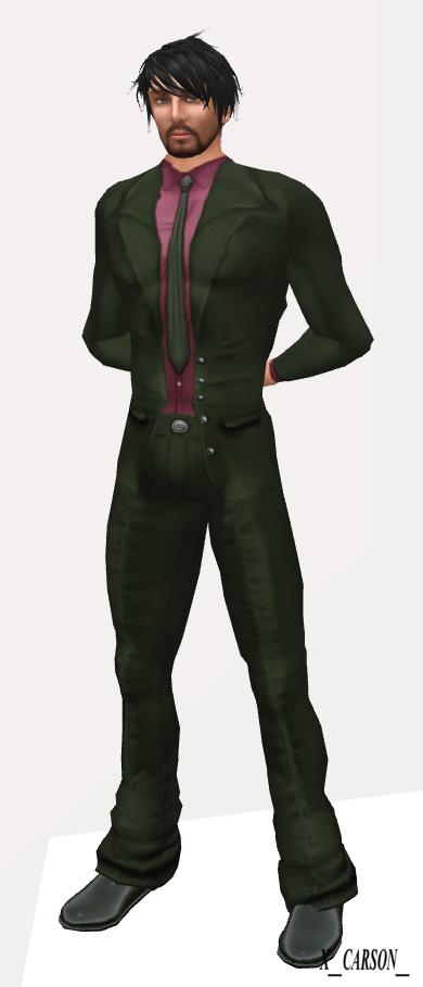 AQUA Rez Day Suit Pink-Olive