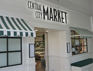 Entrance Central City Market