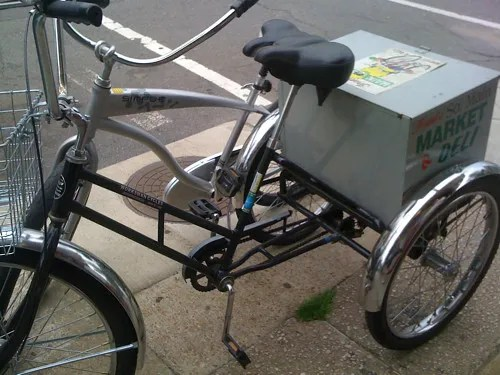 Franks delivery bike, Memphis, Tenn.