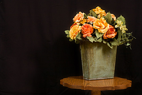 Flower arrangement for Photo Club