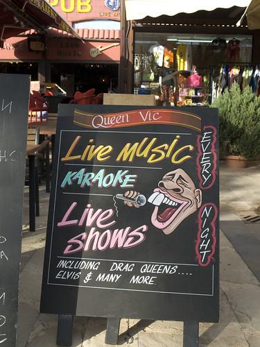 Queen Vic Live Music Karaoke