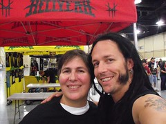 Yours Truly with Disturbed's John Moyer