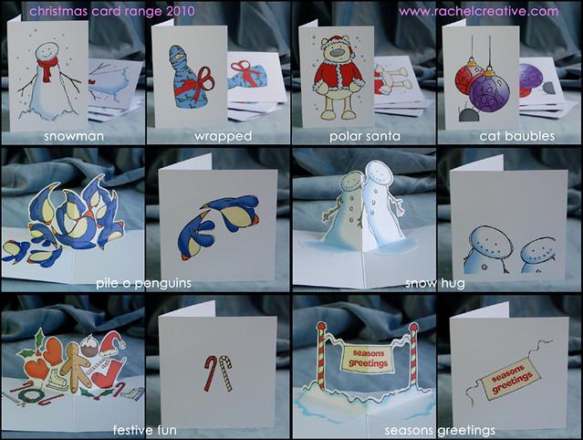 christmas cards my 2010 range