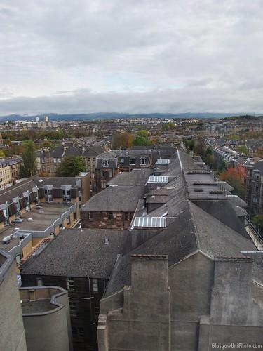 Rooftops of Hillhead Street