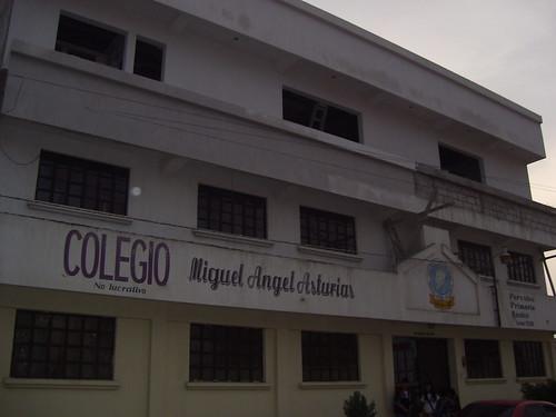 Front of Asturias Academy