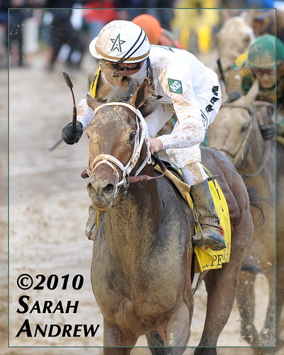 Super Saver and Calvin Borel win the Kentucky Derby