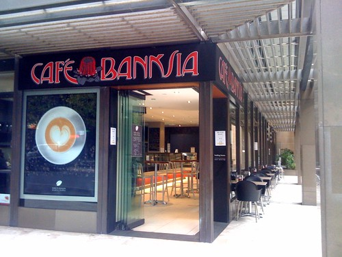 Cafe Banksia, Sydney CBD
