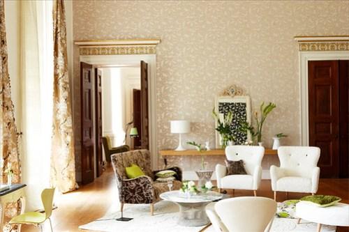 James Merrell living room