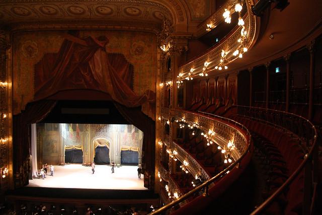 10.05.24  Los palcos de la Sala Principal del Teatro Colón antes de la reapertura