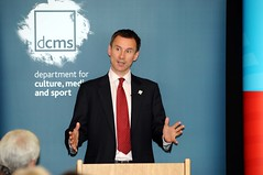 Jeremy Hunt, Weymouth, 11 June 2010