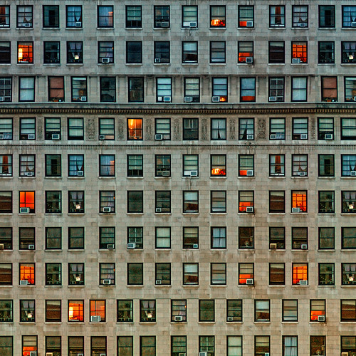 a story behind each window