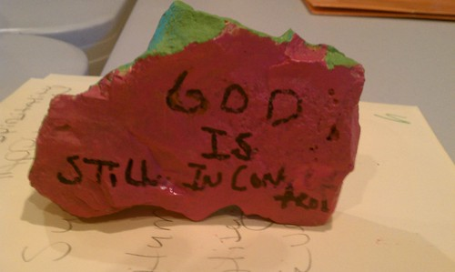 Student work: God is still in control