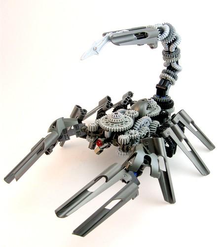 Lego ScrapMetal Scorpion