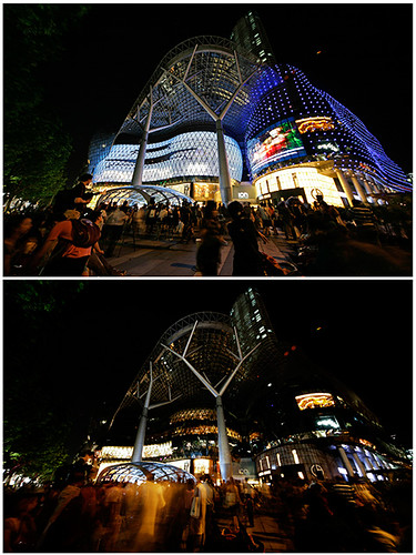 Earth Hour @ Ion Orchard