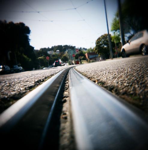 Muni tracks