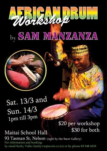 African Drum Workshop - Nelson