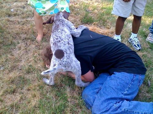 Max gets mauled