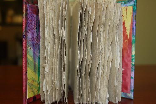 Green clothbound journal