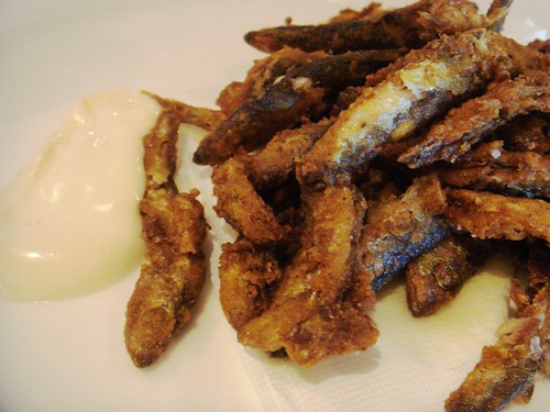 The Narrow - Devilled Whitebait £4.00