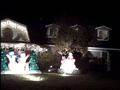 Hallmark Belmont Home Decorated for Christmas