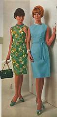 1966 Spiegel catalog sheath dresses