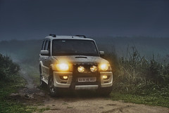 The Mahindra Scorp' in its elements