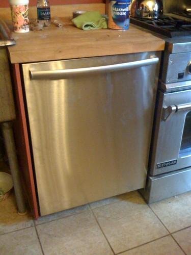 We have a dishwasher!!!