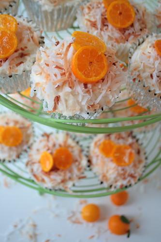 Kumquat Cocout upcakes