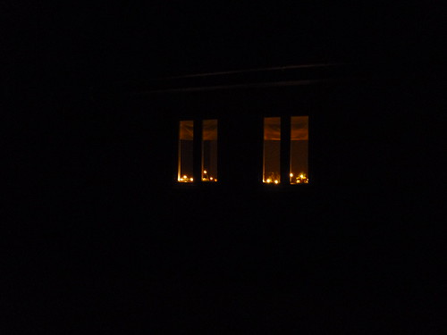 Lights in windows