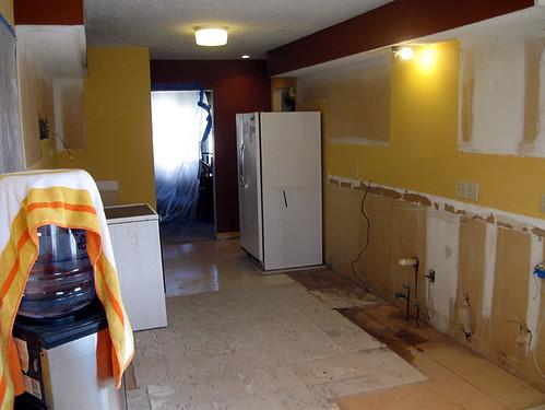 Kitchen Demo - 2-17-10