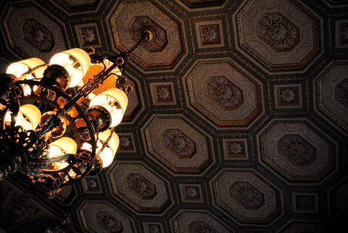 Brown Hotel Ceiling