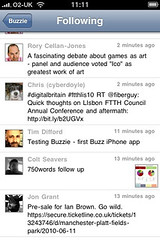 4403833318 267e6fec31 m First Google Buzz iPhone App Hits The Store   Its Buzzie!