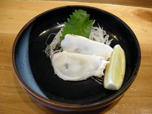 Raw Octopus from Tsukiji Market