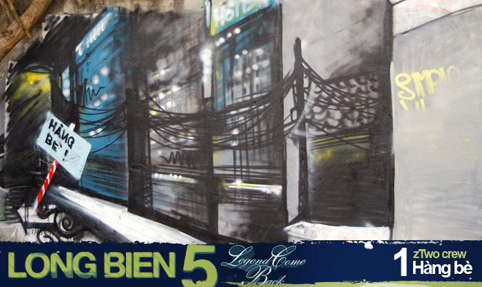 Long Biên 5 Graffiti Battle