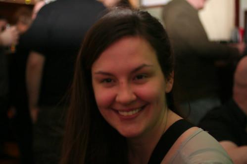 Alicia Smiling