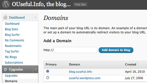 how to change the blog name in wordpress
