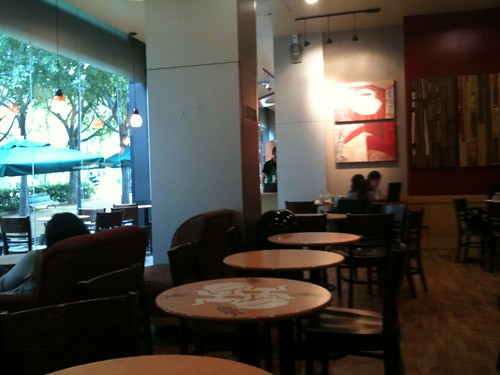 Interior de Starbucks Diagonal
