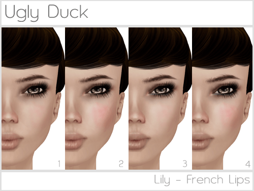 Ugly Duck: Lily - French Lips