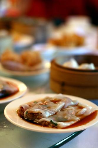 Yum cha at East Ocean Restaurant, Sydney.