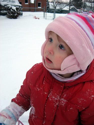 Staring At Snowflakes