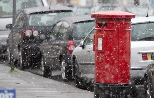 Snow on Madoc Street, Llandudno