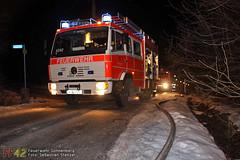 Gartenhüttenbrand Hirtenstraße 23.01.10