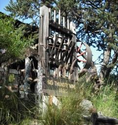 big thunder mine piratetinkerbell tags california ca railroad wild mountain west train mine [ 768 x 1024 Pixel ]