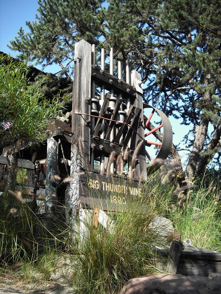 medium resolution of big thunder mine piratetinkerbell tags california ca railroad wild mountain west train mine